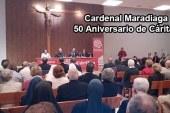 Conferencia del Cardenal Maradiaga con motivo del 50 aniversario de Cáritas Guadix [Vídeo]