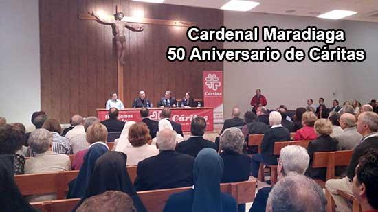 Cardenal Maradiaga visita Guadix para celebrar el 50 aniversario de Cáritas [Vídeos]