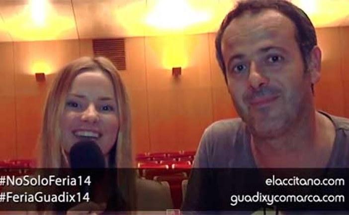 El chico de la tumba de al lado, entrevista a sus protagonistas [Vídeo]  #NoSoloFeria #FeriaGuadix