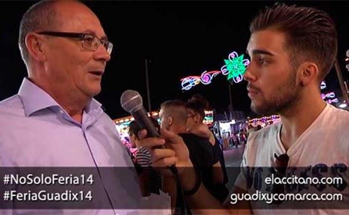 Feria de Guadix 2014, entrevista al alcalde en el recinto ferial [Vídeo]