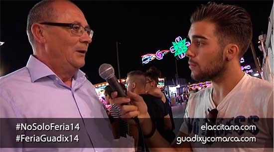Entrevista alcalde de Guadix