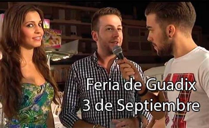 Ismael de Se llama copla recordamos su visita nuestra Feria de Guadix 2014 [Vídeo] #NoSoloFeria