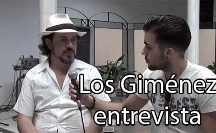 Los Gimenez, entrevista previa a su concierto de Feria de Guadix [Vídeo]