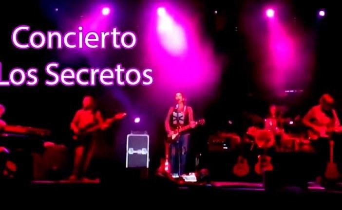Los Secretos ponen el broche final a la Feria de Guadix 2014 [Vídeos] #NoSoloFeria14 #FeriaGuadix14