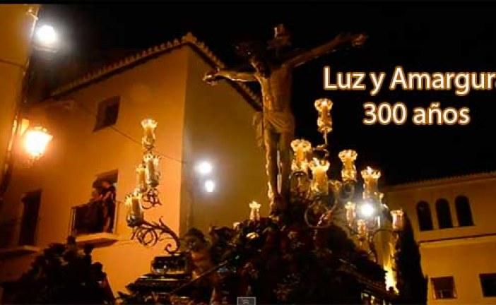 Cristo de la Luz y Virgen de la Amargura procesión con motivo de sus 300 aniversario de existencia [Vídeos]