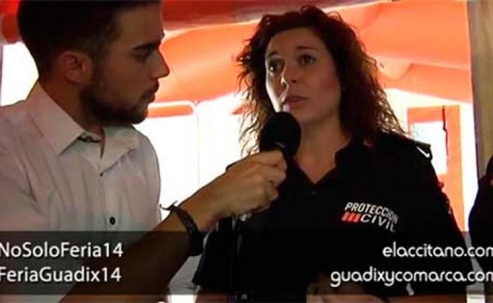 Protección civil de Guadix siempre velando por la seguridad de los accitanos [Vídeo Entrevista] #NoSoloFeria14 #FeriaGuadix14