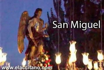 Fiestas de San Miguel 2015 esta noche procesión por las calles de su barrio en Guadix