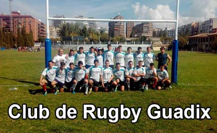 Primer partido de Rugby disputado en las instalaciones deportivas municipales de Guadix