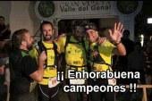 Tres accitanos ganan el Campeonato de Andalucía por equipos trail Villa del Genal [Vídeo]