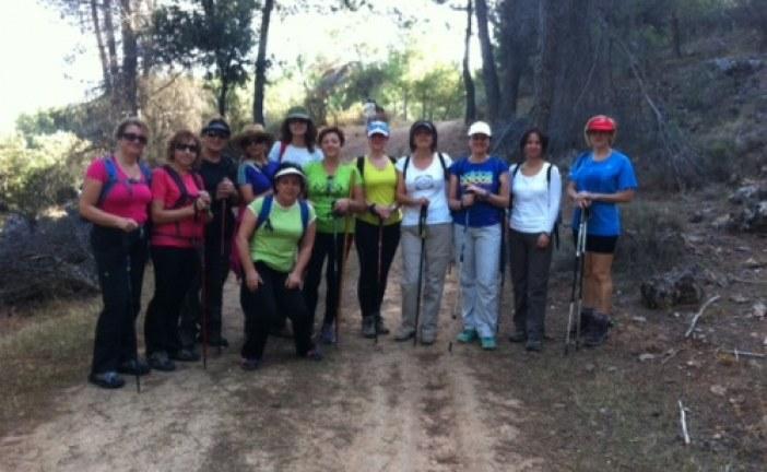Programa de senderismo para mujeres