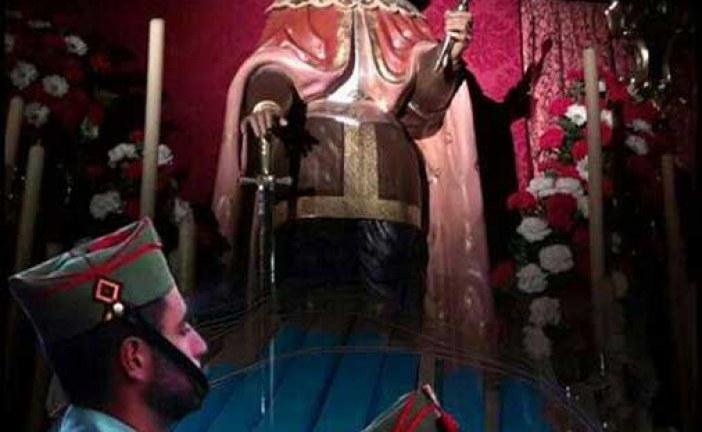 Hoy 13 de abril recordamos a San Hermenegildo patrón de Alquife