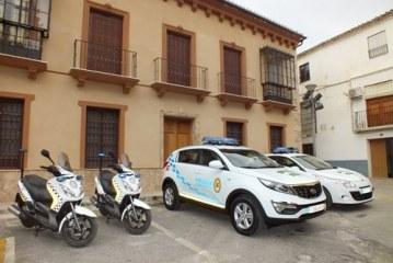 Detenidos dos ladrones en las inmediaciones de los juzgados por la Policía local de Guadix
