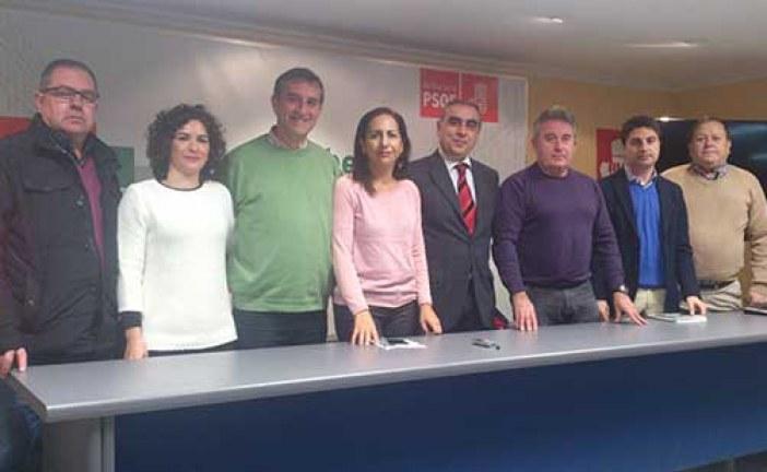 Martínez Olmos encarga a la nueva ejecutiva del PSOE de Guadix la elaboración de un programa electoral con proyectos viables para la ciudad