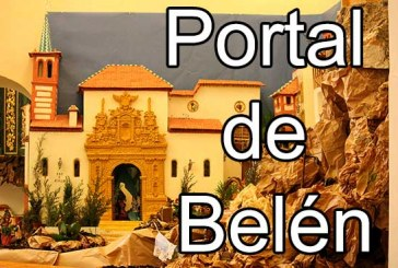 Portal de Belén en Guadix con una increíble replica de la iglesia de Santiago [Resumen Guadix – Diciembre 2014]