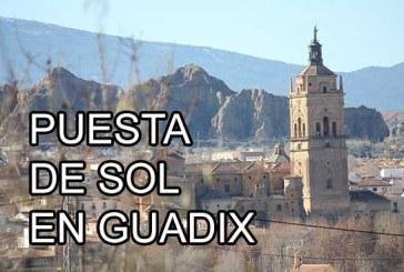 Puesta de sol en Guadix y Jérez del Marquesado [Vídeo]