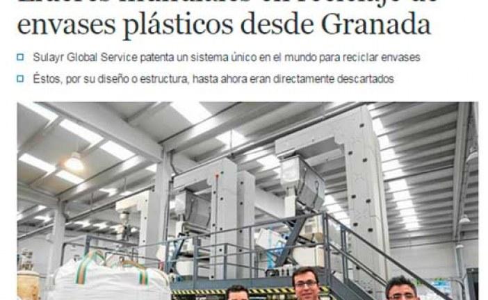 [Sucedió en 2015] La empresa Sulayr Global Service de nuestra comarca recibe la bandera andaluza