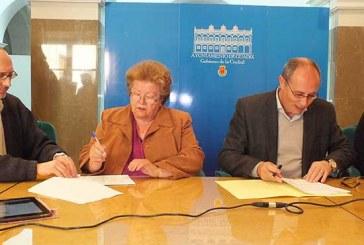 Ayuntamiento y Asociación San José formalizan el convenio para la concesión demanial del espacio de dominio público de la Plaza Julia Gemella Acci