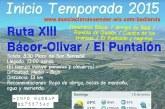 Ruta XIII de El Puntalón de Bácor Olivar