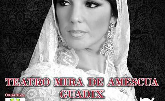 Incienso y mantilla con Joana Jiménez en Guadix – 7 de Febrero @JoanaJimenez_