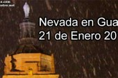 Vuelve a nevar en Guadix de forma intensa pero breve [Vídeo]