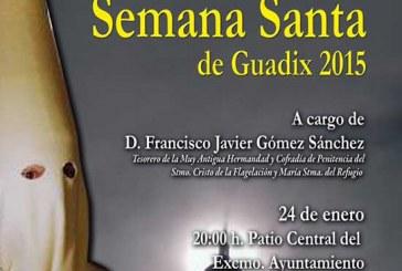 Presentación cartel Semana Santa Guadix 2015