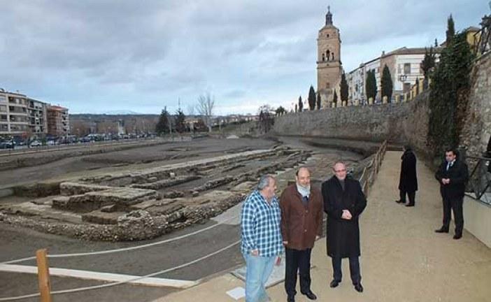 Diputación apoya la puesta en valor del Teatro Romano de Guadix