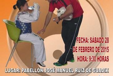 Trofeo Ciudad de Guadix de Taekwondo mañana en el pabellón cubierto
