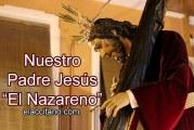 Celebrado el Via crucis en Guadix de la Federación de Hermandades y Cofradías de Semana Santa de Guadix 2015 [Vídeo] @NazarenoGuadix