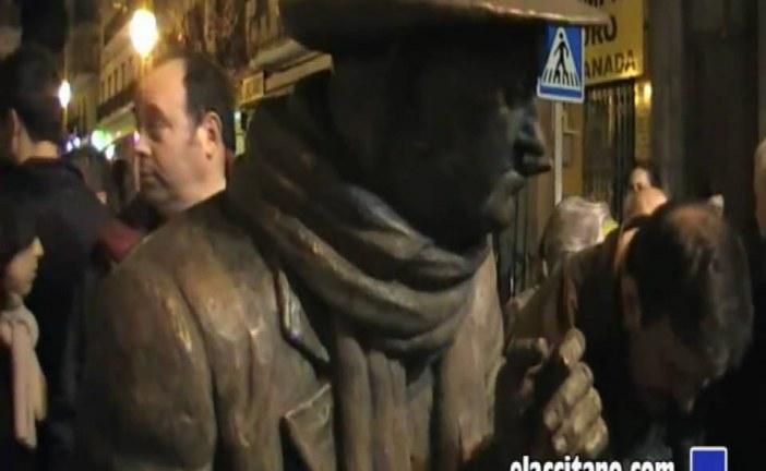 "Inauguración estatua ""Muley"" en Guadix de José Amezcua [Sucedió en Febrero 2011]"