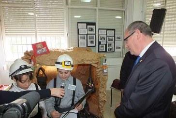 Las minas de Alquife protagonistas del museo realizado por los alumnos del Colegio de La Presentación de Guadix