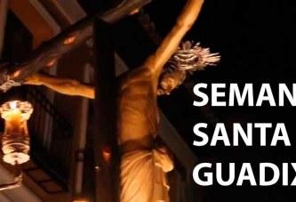 Horarios Semana Santa Guadix 2018 oficial [Vídeos]