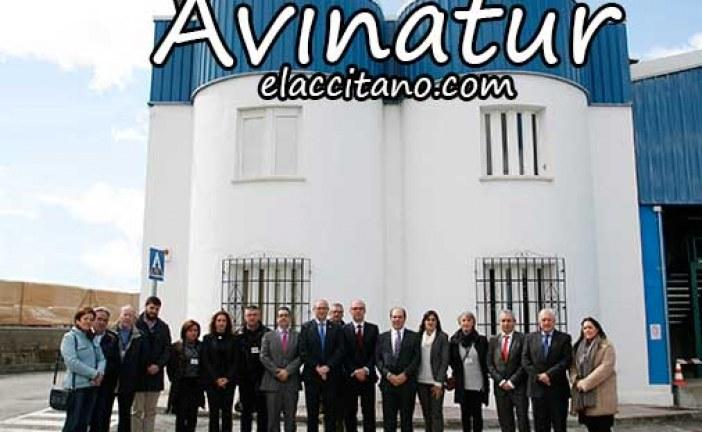 Avinatur Sur en Purullena visita del alcalde y los concejales