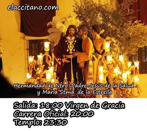 Domingo de Ramos La Estrella horario