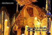 La Hermandad de la Virgen de la Estrella de Guadix cierra el Domingo de Ramos [Vídeos]