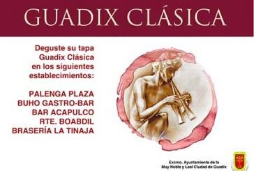 Degusta la tapa de Guadix clásica