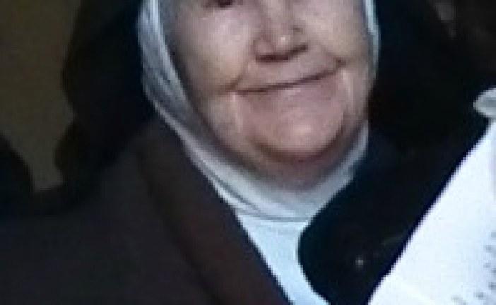 Ha fallecido la hermana clarisa Sor Patrocinio de San José