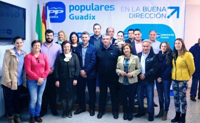 Lista oficial del Partido Popular para las elecciones municipales de Guadix 2015