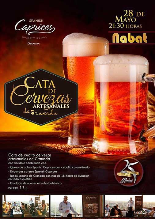Cata de cervezas en Nabat