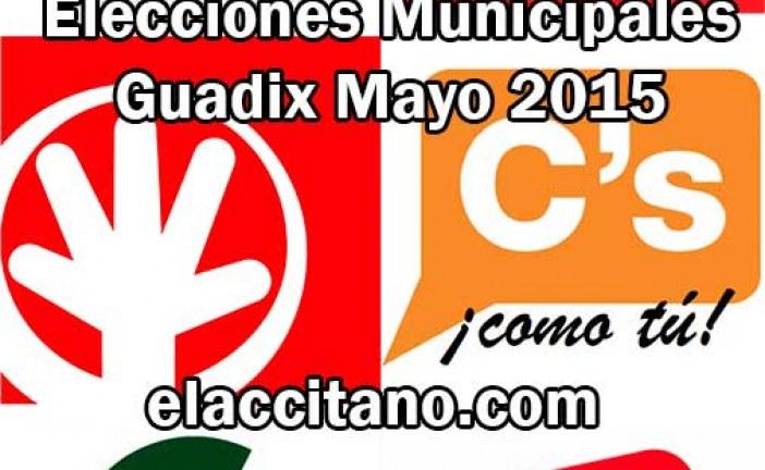 ¿Quién crees que ganará las elecciones municipales en Guadix? – Participa en esta encuesta
