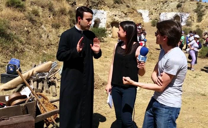 Entrevista a Raúl Escudero que encarna el personaje de Pedro Poveda en Guadix