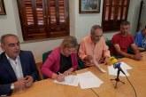 [Sucedió en 2.015] El PSOE y Gana Guadix firman un acuerdo de investidura para que la socialista Inmaculada Olea sea la alcaldesa