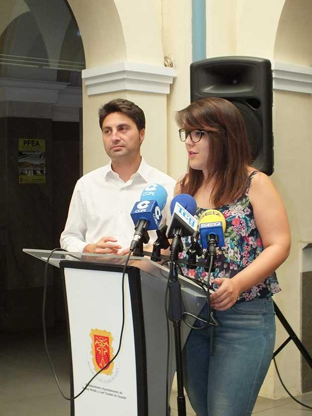 Bea Postigo concejala del Ayuntamiento de Guadix