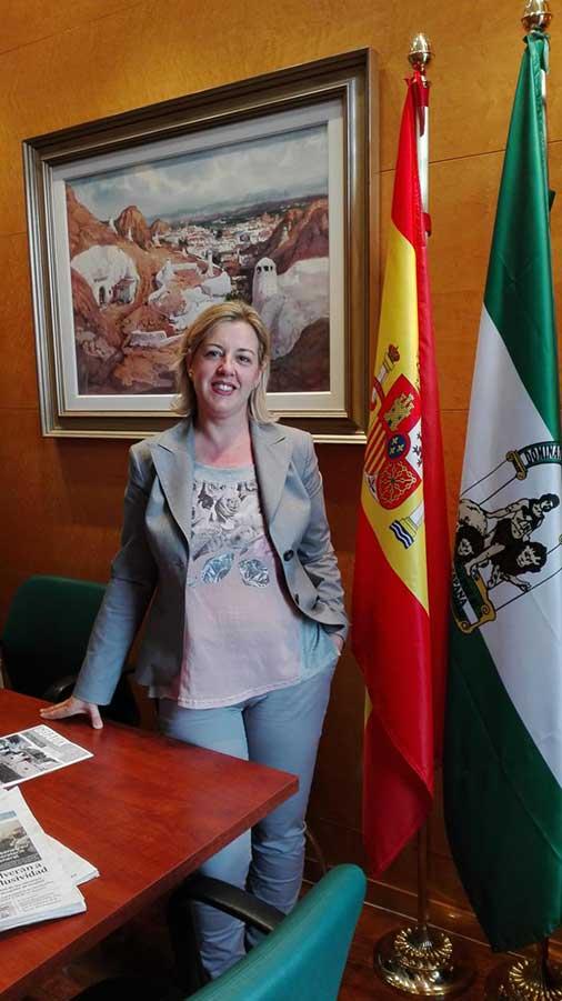 Inmaculada Olea alcaldesa de Guadix