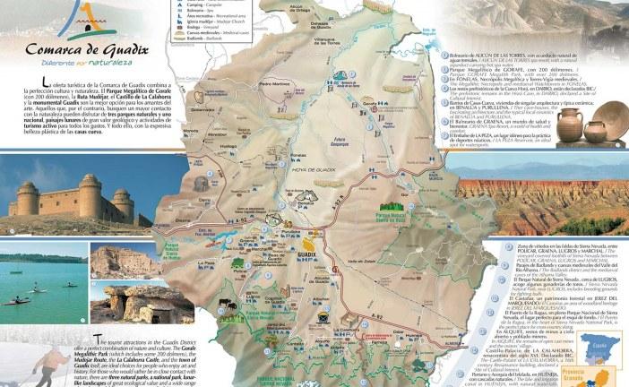 Nuevo Plano Turístico de la Comarca de Guadix