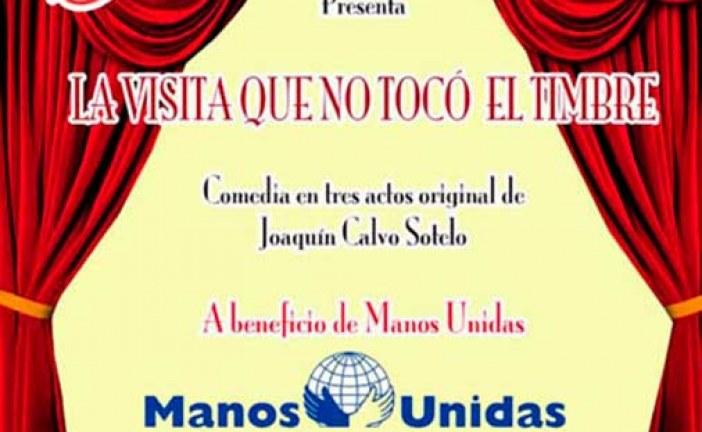 Mira de Amescua estrena una obra de Teatro en Guadix, el sábado 27 de junio, a beneficio de Manos Unidas