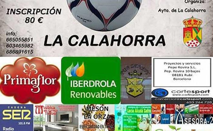 VI 24 horas de fútbol sala en La Calahorra – 5, 6 y 7 de Agosto