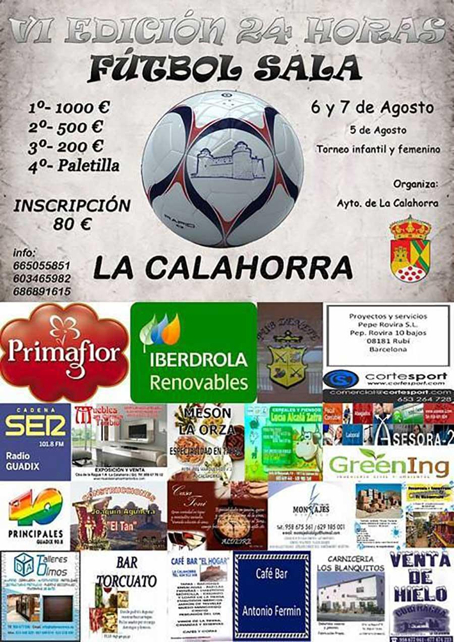 24 horas de futbol sala La Calahorra