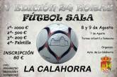 24 horas de fútbol sala en La Calahorra – 8 y 9 de Agosto