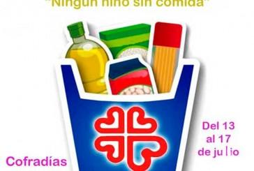 """""""Ningún niño sin comida"""", campaña de las Cofradías de Baza para recoger alimentos"""