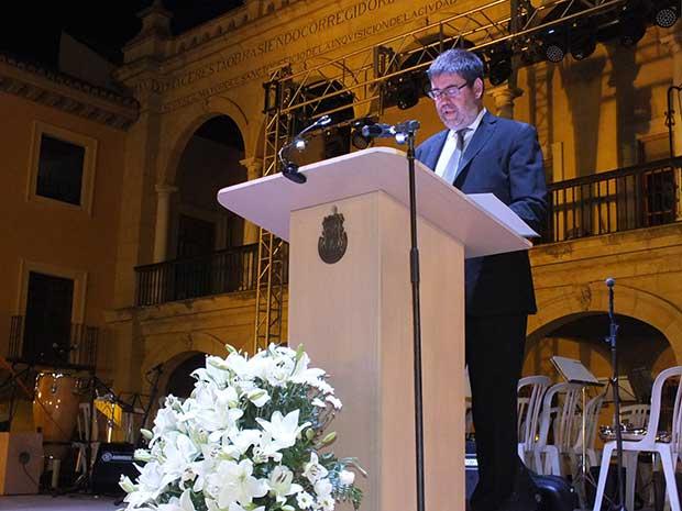 Antonio Lopez pregonero feria de Guadix 2015